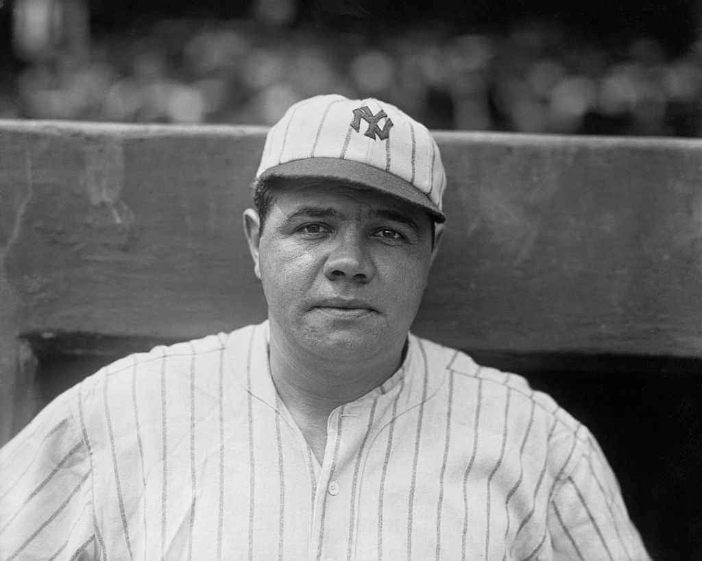 Babe Ruth, legendary American professional baseball player