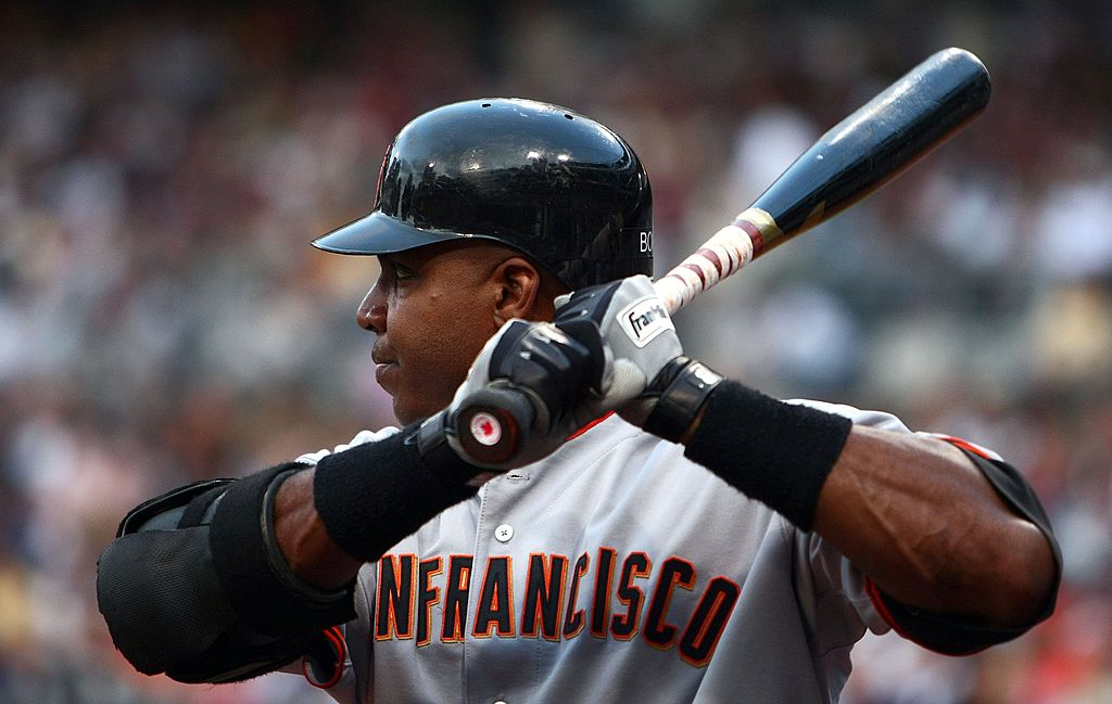 San Francisco Giants outfielder Barry Bonds retired as baseball's home-run king in 2007. Bonds didn't, and still doesn't, appear in most sports video games despite his historic career.