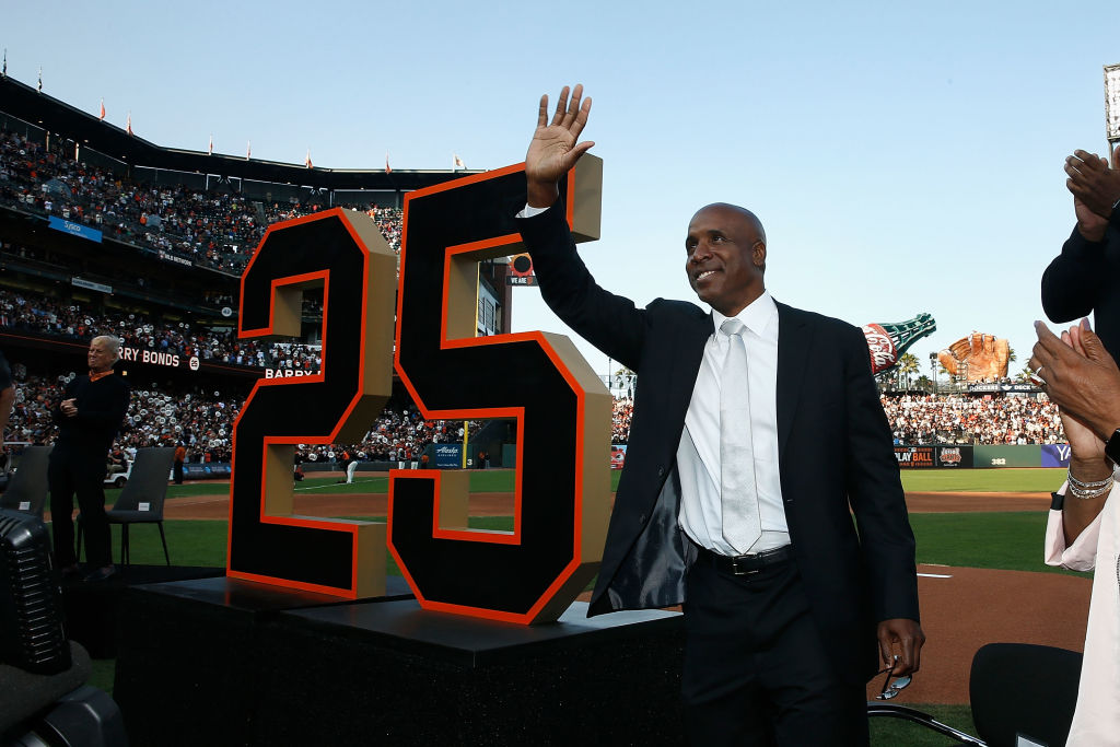 Even in retirement, Barry Bonds is still involved with baseball.