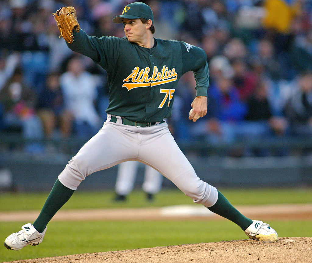 Whatever Happened to Oakland A's Cy Young Pitcher Barry Zito?