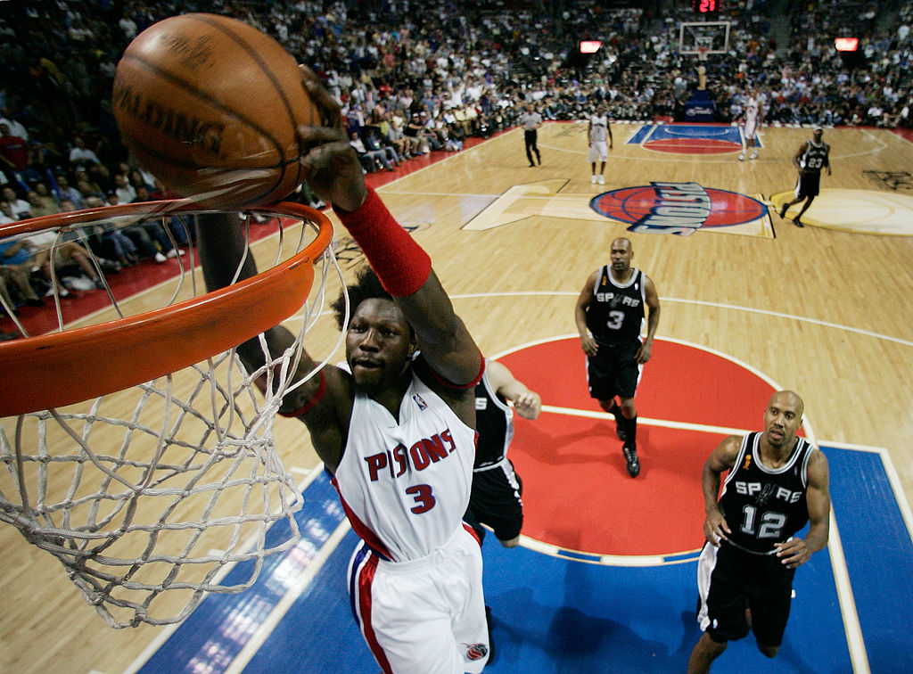 Detroit Pistons legend Ben Wallace believes the Detroit Pistons benefitted from not drafting Carmelo Anthony in 2003.