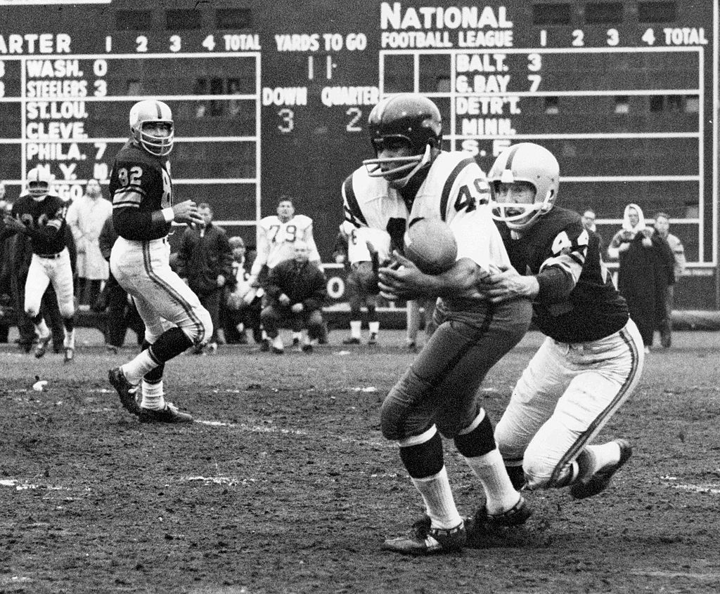 Bobby Mitchell was a pioneer for the NFL. He was also one of the greatest players in the league during two of his seasons on the Redskins.