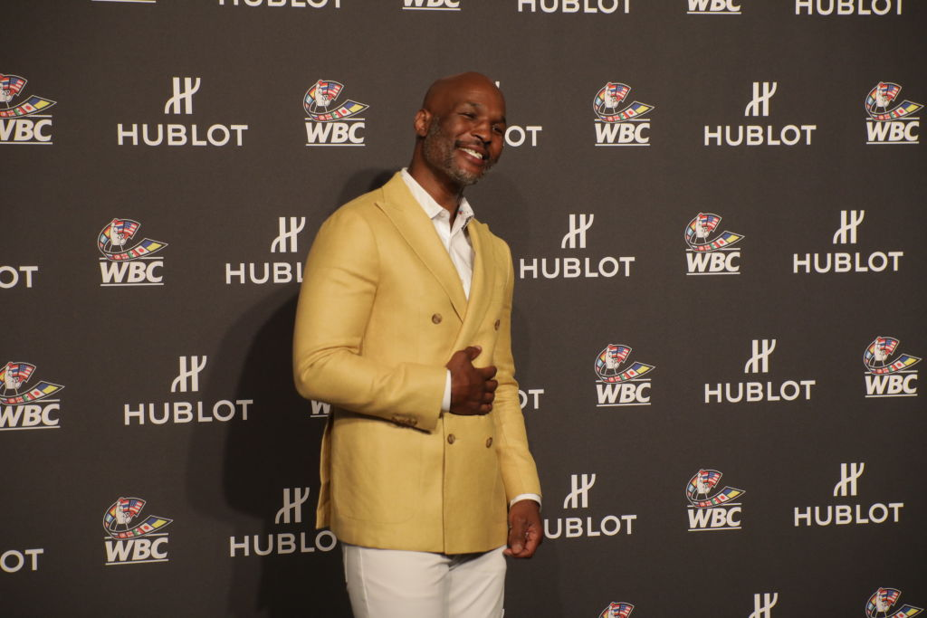"Boxer Bernard Hopkins attends the Hublot x WBC ""Night of Champions"" Gala in 2019"