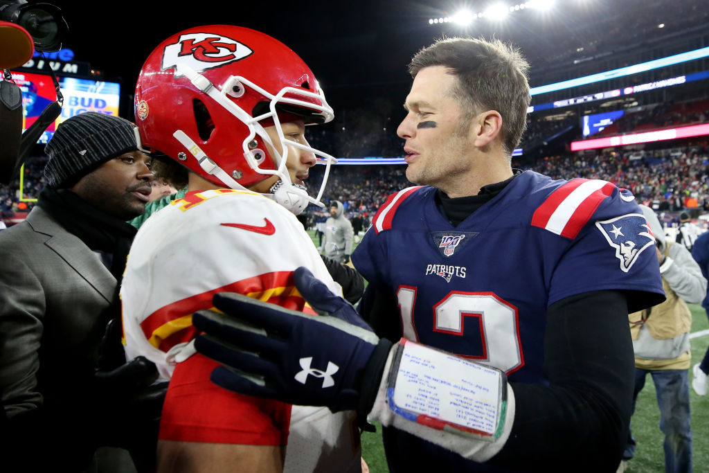 Tom Brady and Patrick Mahomes share similarities both on and off the field as two of the NFL's most popular quarterbacks.