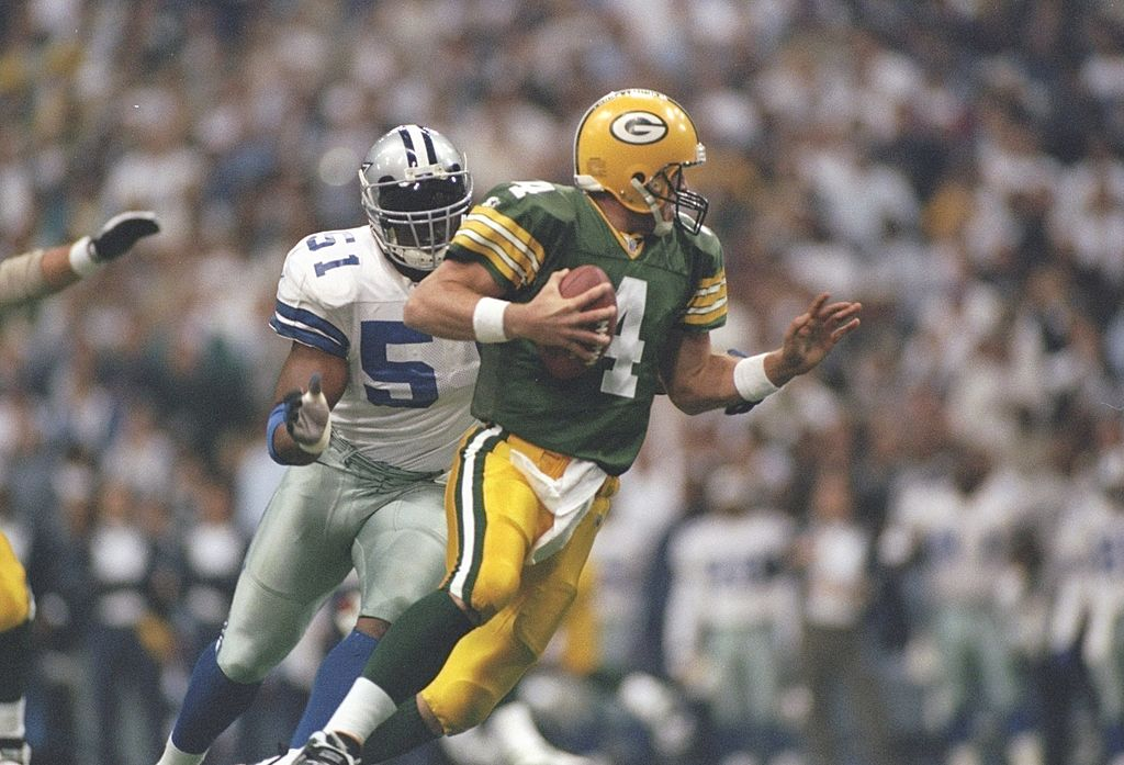 The Dallas Cowboys Owned Brett Favre and the Green Bay Packers