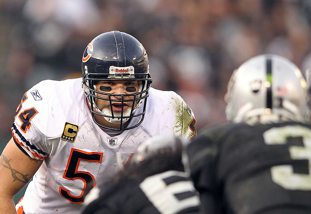 Former Chicago Bears linebacker Brian Urlacher isn't a fan of the Bears signing veteran defensive end Roebrt Quinn to a five-year contract.