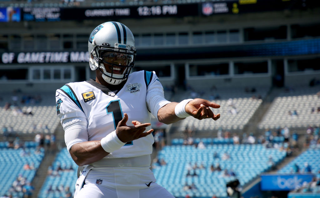 Could former Carolina Panthers quarterback Cam Newton join the Washington Redskins? Las Vegas oddsmakers think so.