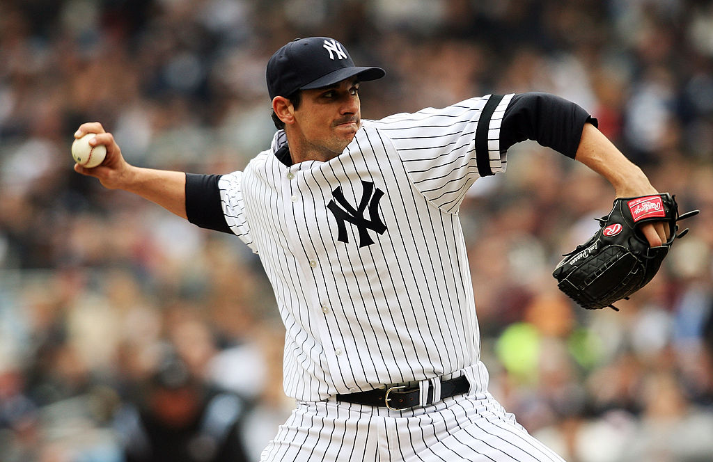 Carl Pavano went 9-8 with a 5.00 ERA in 26 starts from the New York Yankees from 2005-08. Pavano is considered one of the biggest free agent busts in baseball history.