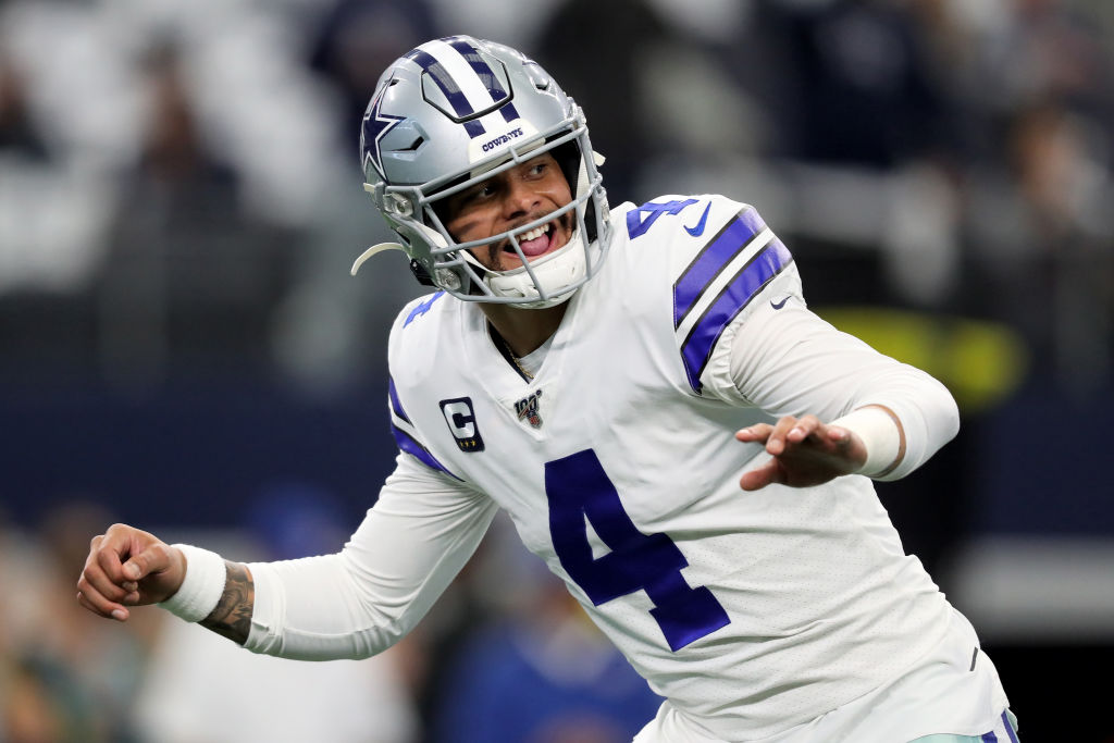 Dak Prescott and the Cowboys still haven't worked out a long-term contract.