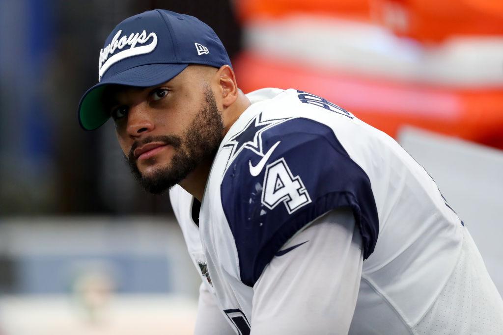 Cowboys quarterback Dak Prescott