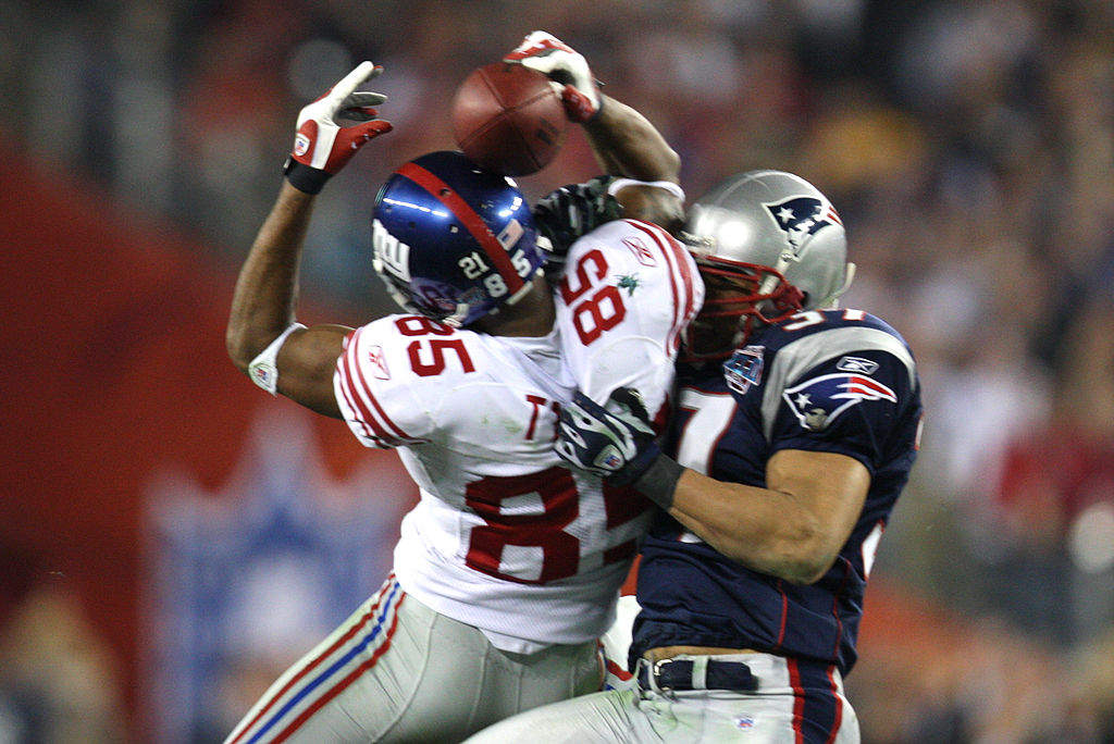 David Tyree became a Super Bowl hero after hauling in a helmet catch for the New York Giants.