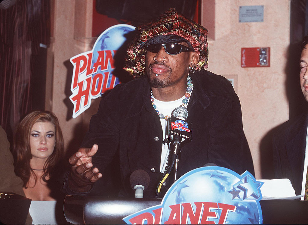 Dennis Rodman's Son Learns of Father's Wild Vegas Vacay Watching 'The Last Dance'