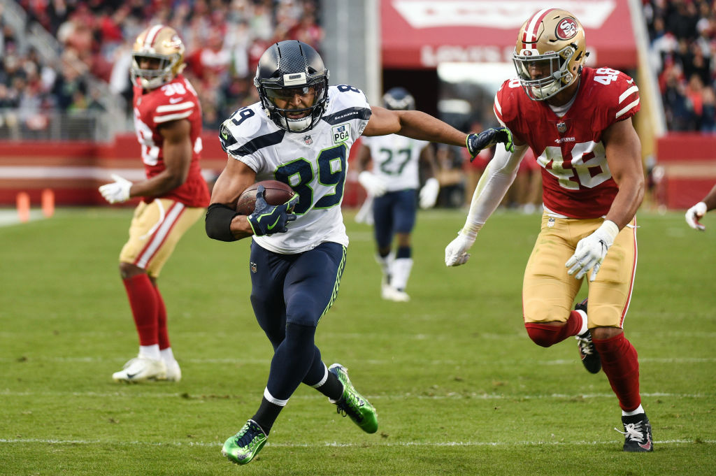 Despite not being an NFL draft pick, Doug Baldwin still went on to earn millions as a former undrafted free agent.