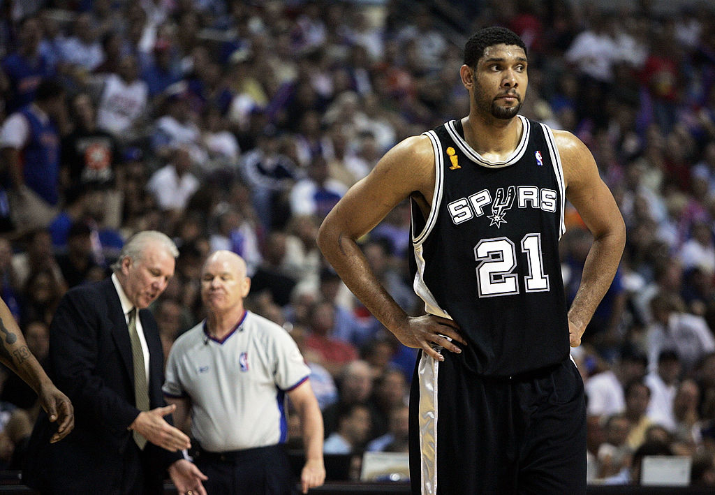 Why an NBA Ref Challenged Tim Duncan to a Fight Then Got Suspended and Sent to Therapy