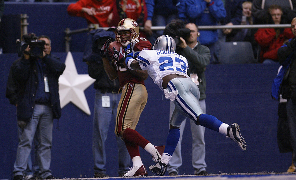 Jerry Jones selected Dwayne Goodrich with the 49th pick in the 2000 NFL draft.