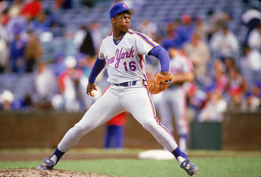 New York Mets phenom Dwight Gooden began an impressive career on April 7, 1984. Gooden won the National League Rookie of the Year that season.