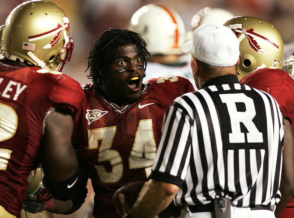Former Florida State and Detroit Lions linebacker Ernie Sims cashed in during his NFL years. Sims is now a rising coach in the college ranks.