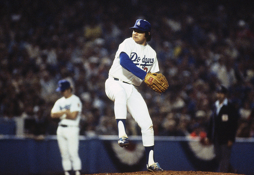 Los Angeles Dodgers pitcher Fernando Valenzuela won the NL Cy Young Award and NL Rookie of the Year in 1981. He is the only player to win both awards in the same season.