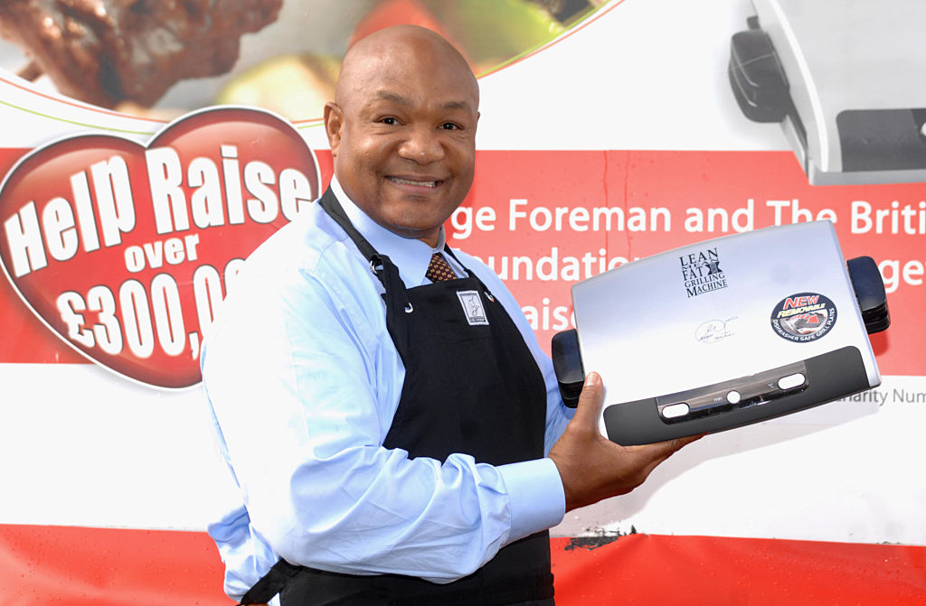George Foreman earned far more from his grill than he did from boxing.