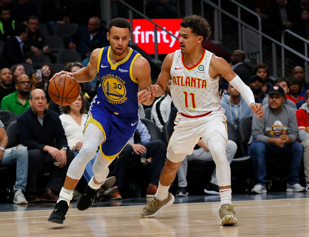 Trae Young Says He'll Pass Steph Curry as the Best Shooter in the NBA in 1 Year