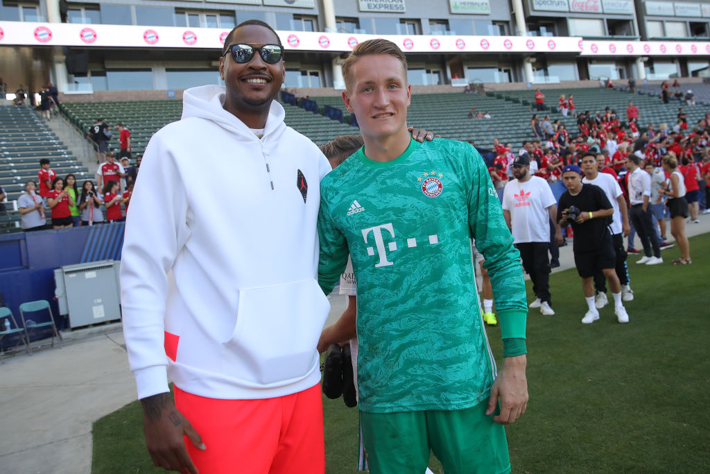 Carmelo Anthony Made so Much Money in the NBA He Bought a Soccer Team
