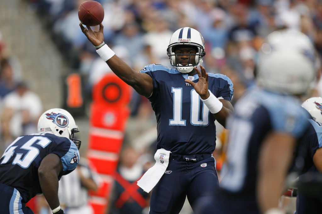 Vince Young's spending habits in the NFL were reckless. He even shelled out enough cash to buy out every seat of a flight just to fly alone.