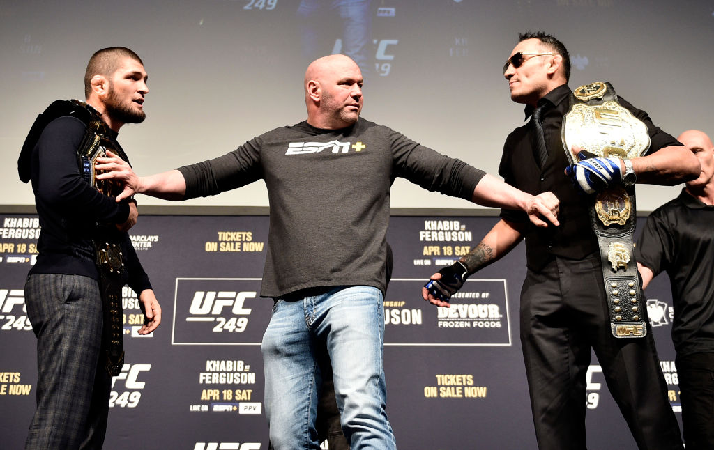 The highly anticipated Khabib versus Ferguson fight just got canceled for the fifth time, but the show must go on for Dana White and UFC 249.