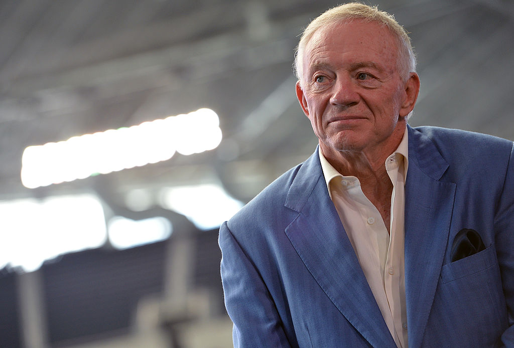 A Texas woman really sued Jerry Jones and the Cowboys for giving her third degree burns on her buttocks in 2012.
