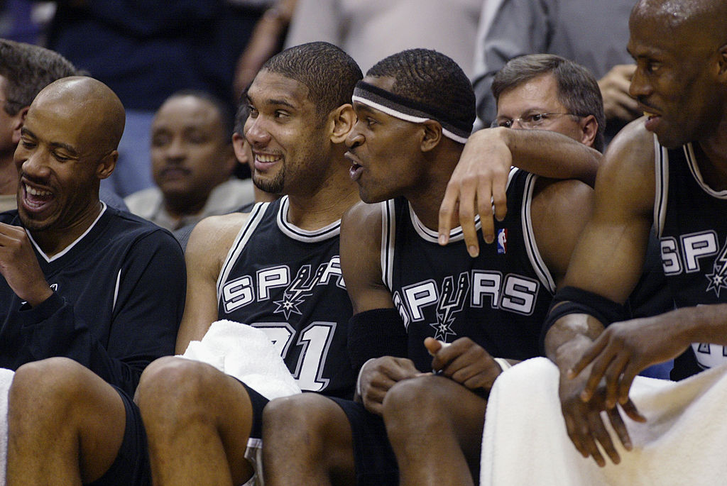 Stephen Jackson Almost Got Kicked off the Spurs for Playing Paintball With Tim Duncan