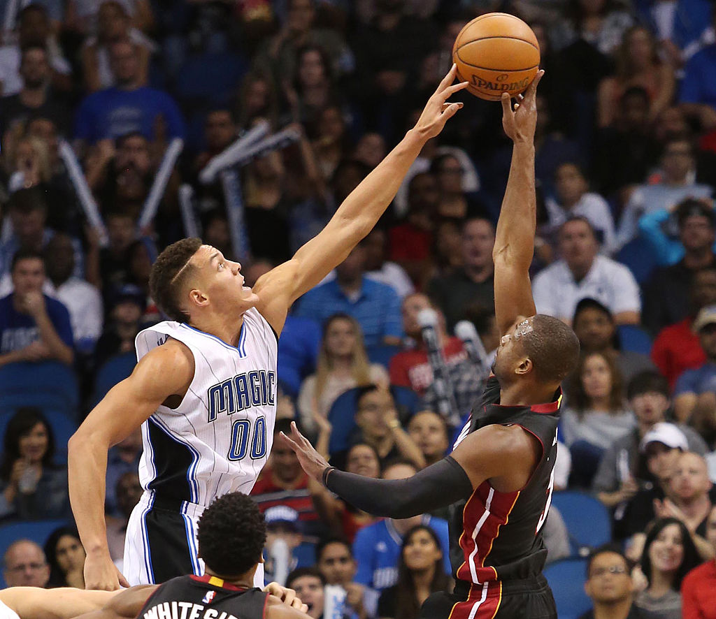 Dwayne Wade robbed Aaron Gordon of an NBA Dunk Contest title earlier this year, and Gordon just proved he still holds a grudge.