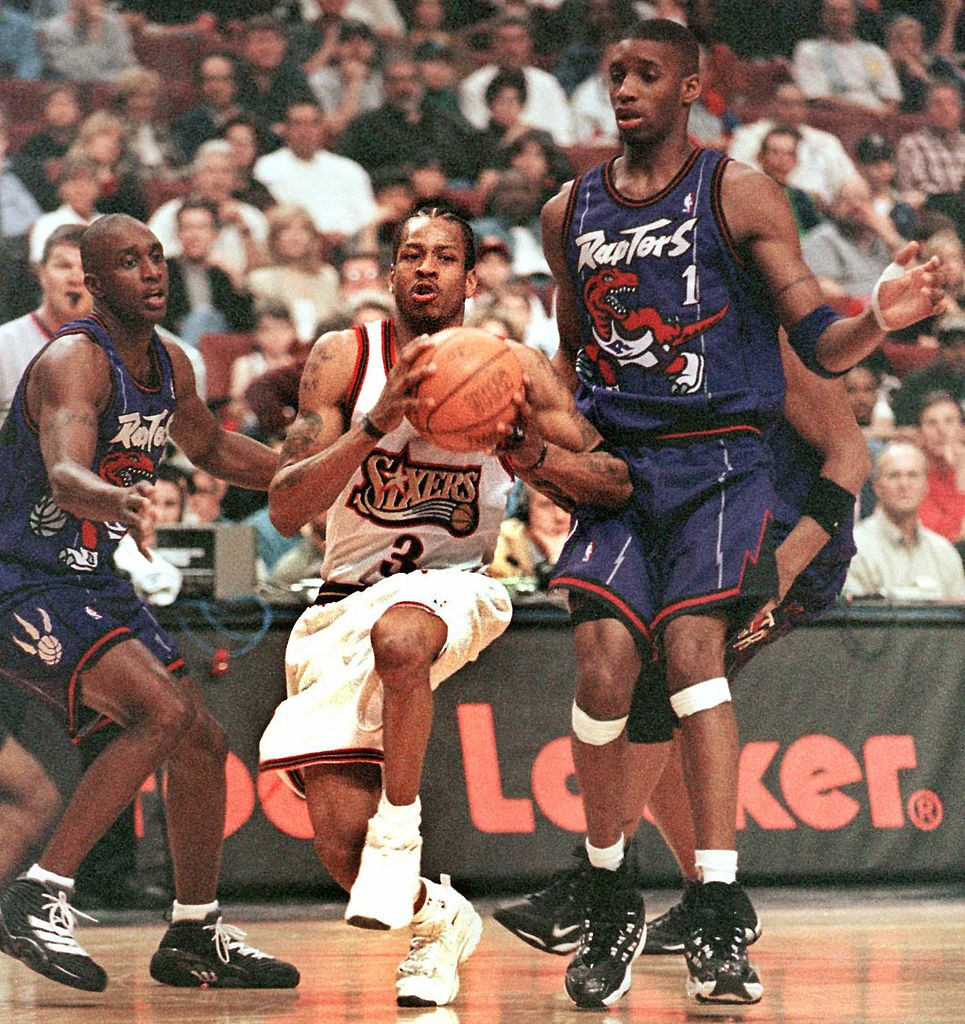 Tracy McGrady almost joined Allen Iverson on the 76ers in 1999, but Stephen A. Smith stopped the trade from happening.