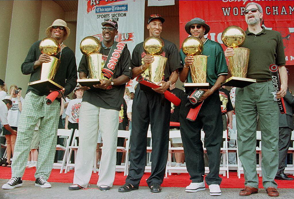 """""""The Last Dance"""" will detail the Michael Jordan-led Bulls' dynasty in 1997-98, but that team wasn't the greatest dynasty in NBA history."""
