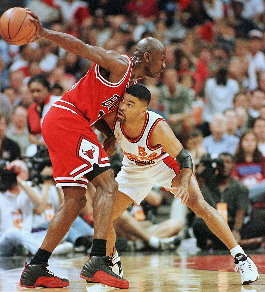 Michael Jordan is one of greatest players and trash talkers in NBA history, and he always backed it up on the court.