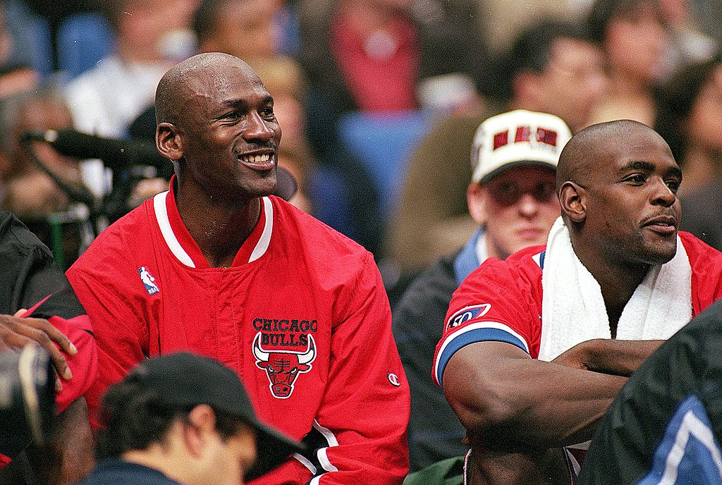 Michael Jordan never took a break from gambling. He even bet money with his Bulls' teammates on NBA jumbotron games during timeouts.