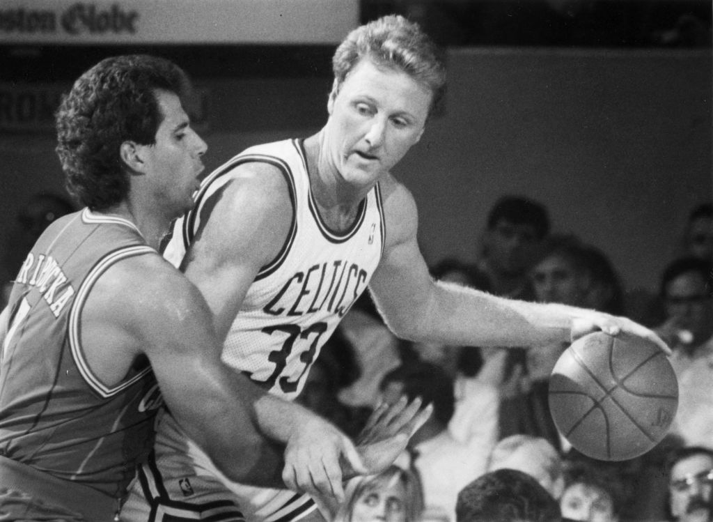 Larry Bird has a host of iconic moments from his NBA career, but one of the most impressive was scoring 47 points with mostly his left hand.