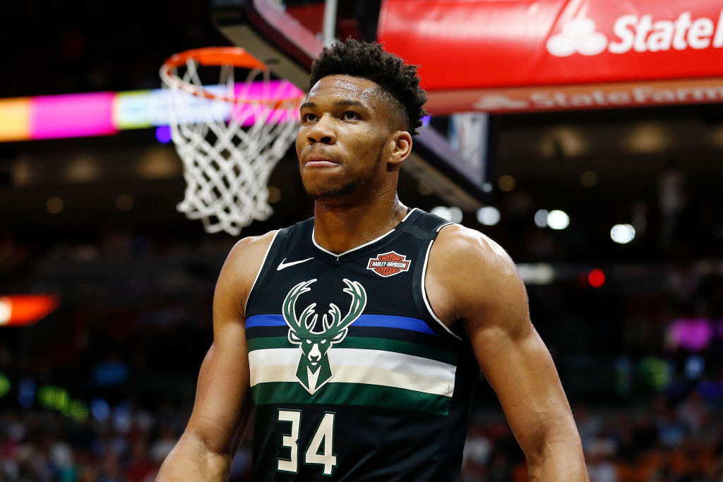 Bucks forward Giannis Antetokoummpo