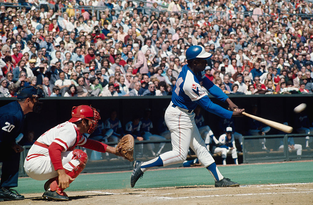 Hank Aaron Tied Babe Ruth's Home Run Record on This Day in 1974