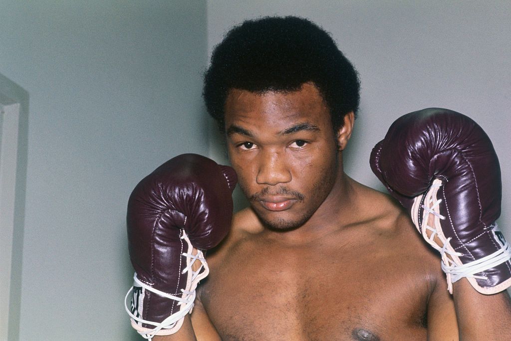 Heavyweight fighter George Foreman