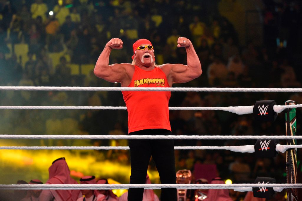 Hulk Hogan could have been a baseball star if not for an elbow injury.
