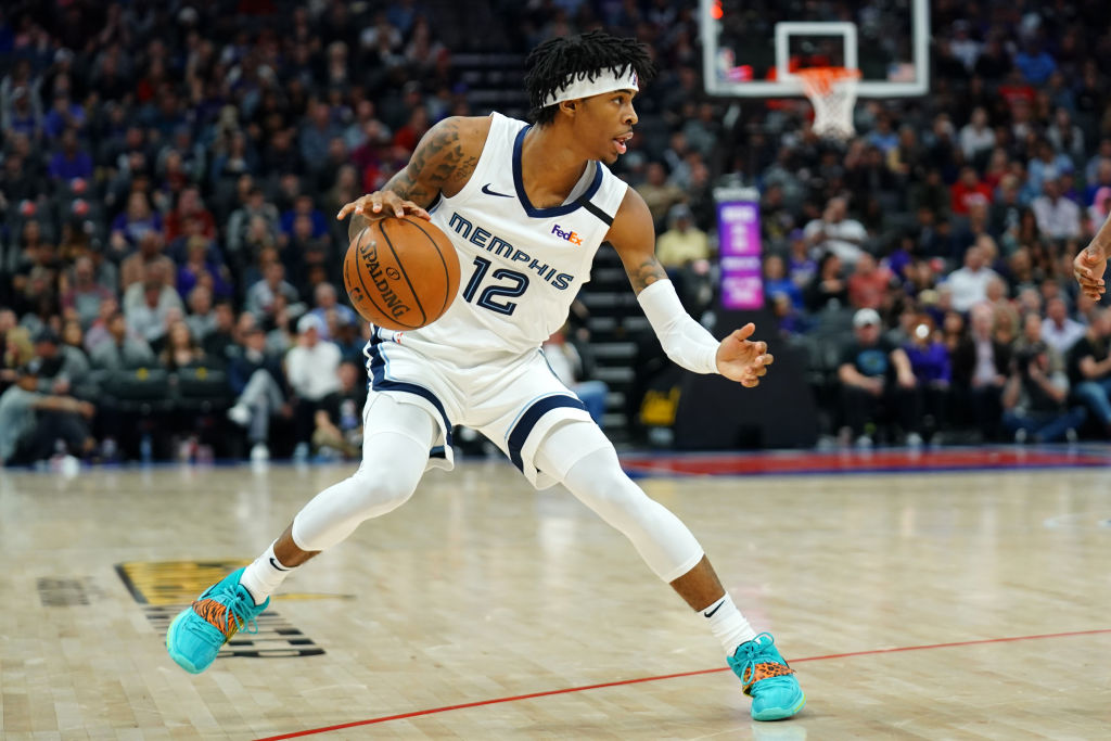 Memphis Grizzlies guard Ja Morant is posting a strong rookie season.