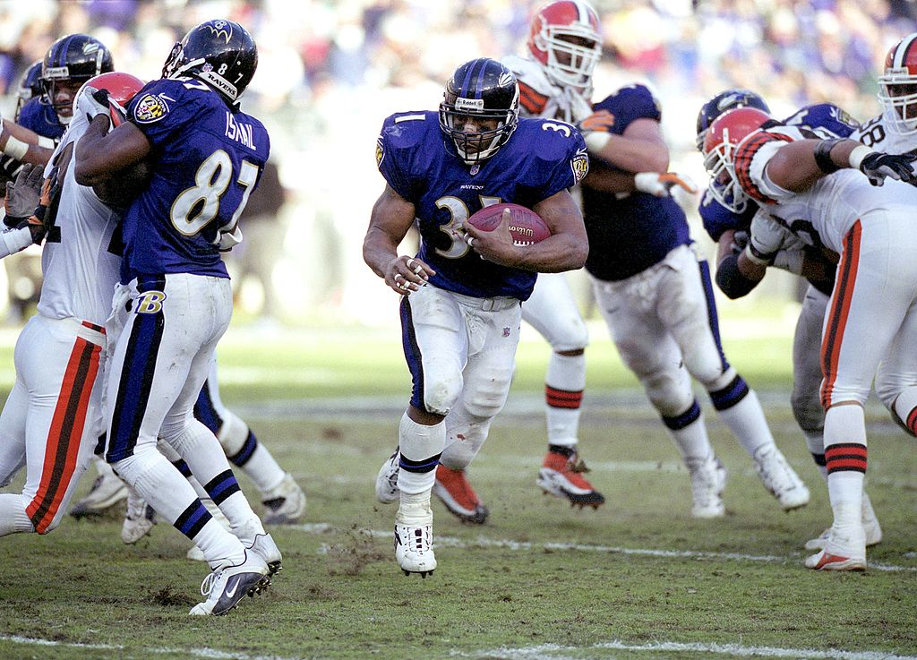 Jamal Lewis was a great running back for the Baltimore Ravens. Since he is not in the Hall of Fame is he the most underrated back of all-time?