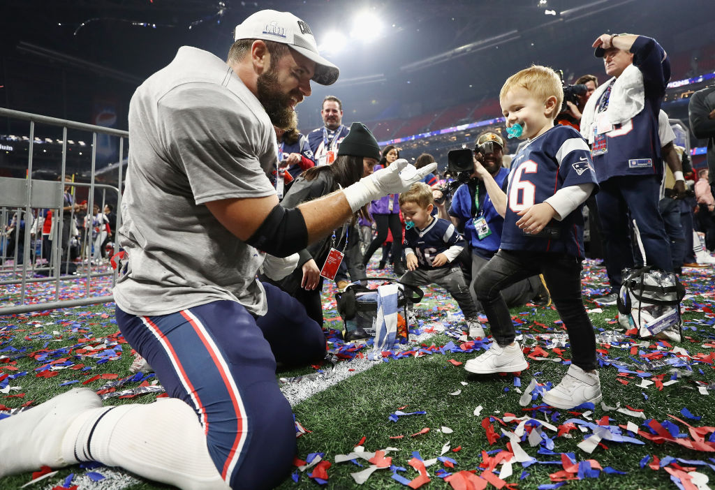 James Develin became a standout fullback for the Patriots after spending his early football career on the defensive side of the ball.