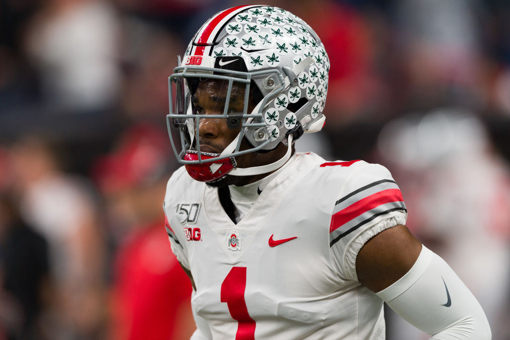 Jeff Okudah is a top prospect in the 2020 NFL draft. With the draft right around the corner, though, Okudah is certainly talking a big game.