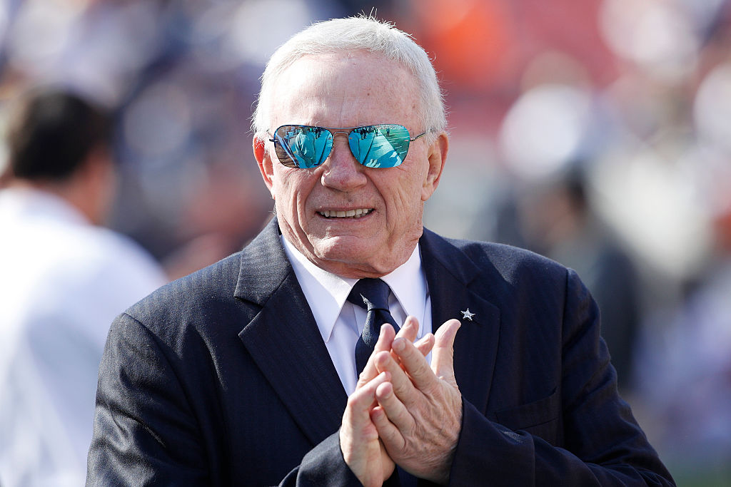 Jerry Jones paid an extra $300,000 to buy the Dallas Cowboys because of a coin flip.