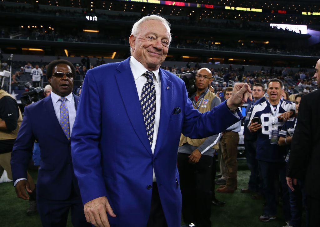 America hopes to get back to normal sometime soon. Dallas Cowboys owner Jerry Jones could potentially help the country get there.