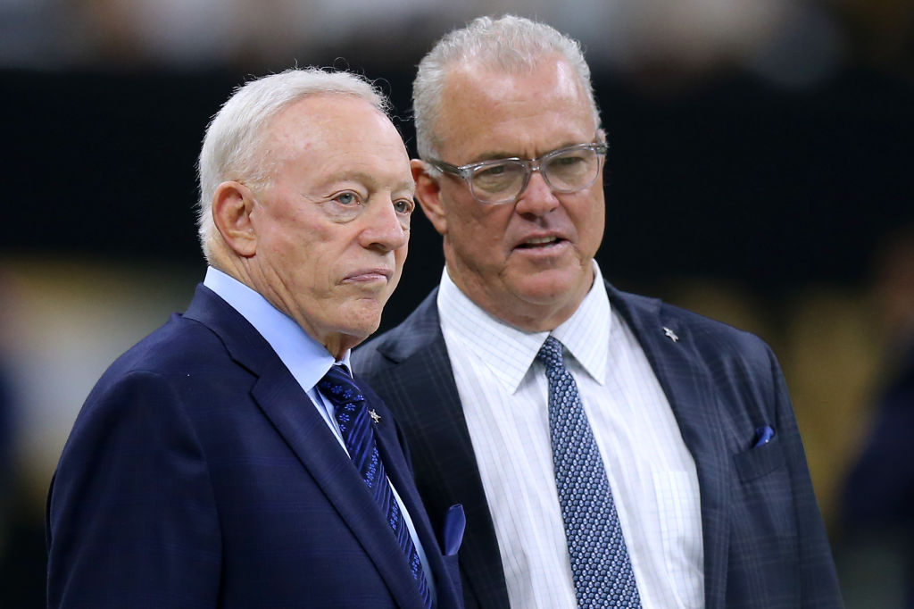 Billionaire Cowboys Owner Jerry Jones Once Made His Son Stephen Apply for a Job at Wendy's