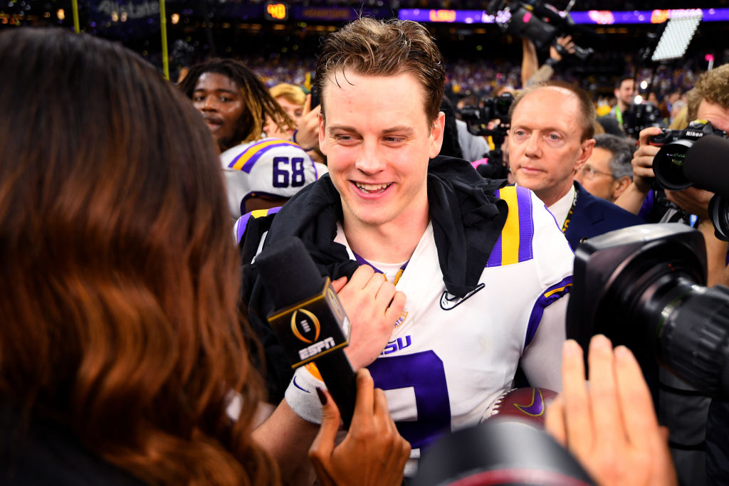 Joe Burrow is the projected No. 1 overall pick in the NFL draft because of his legendary season at LSU. He almost did not go there, though.