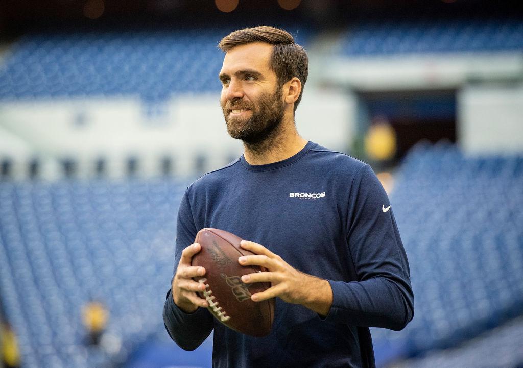 NFL quarterback Joe Flacco