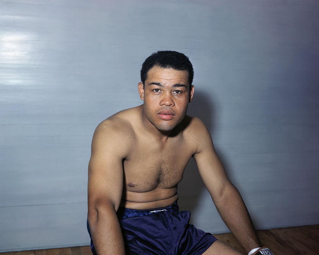 "Joe Louis, the ""Brown Bomber,"" American boxer"