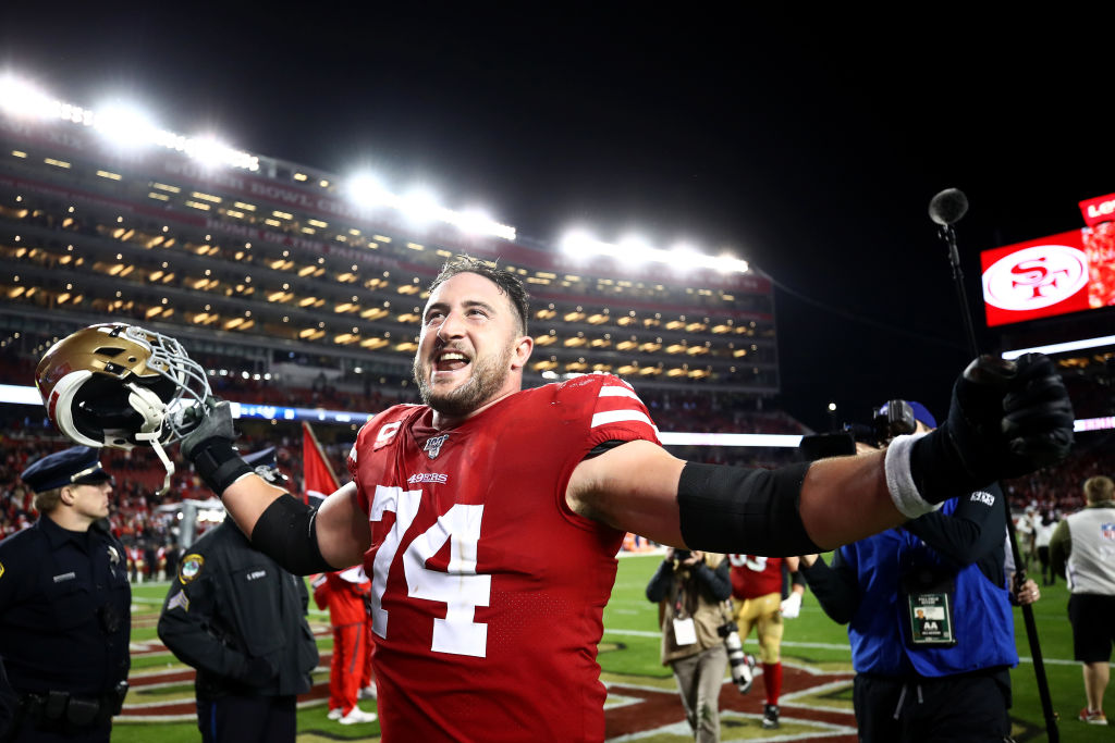 Joe Staley spent his entire NFL career with the 49ers and made $88 million as a Pro Bowl left tackle.